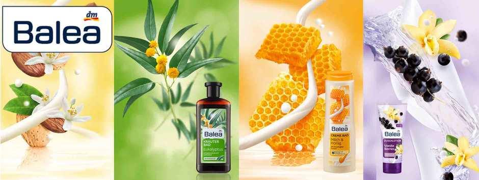 Neuer Look für #Balea Dusch- und Badprodukte @#dm
