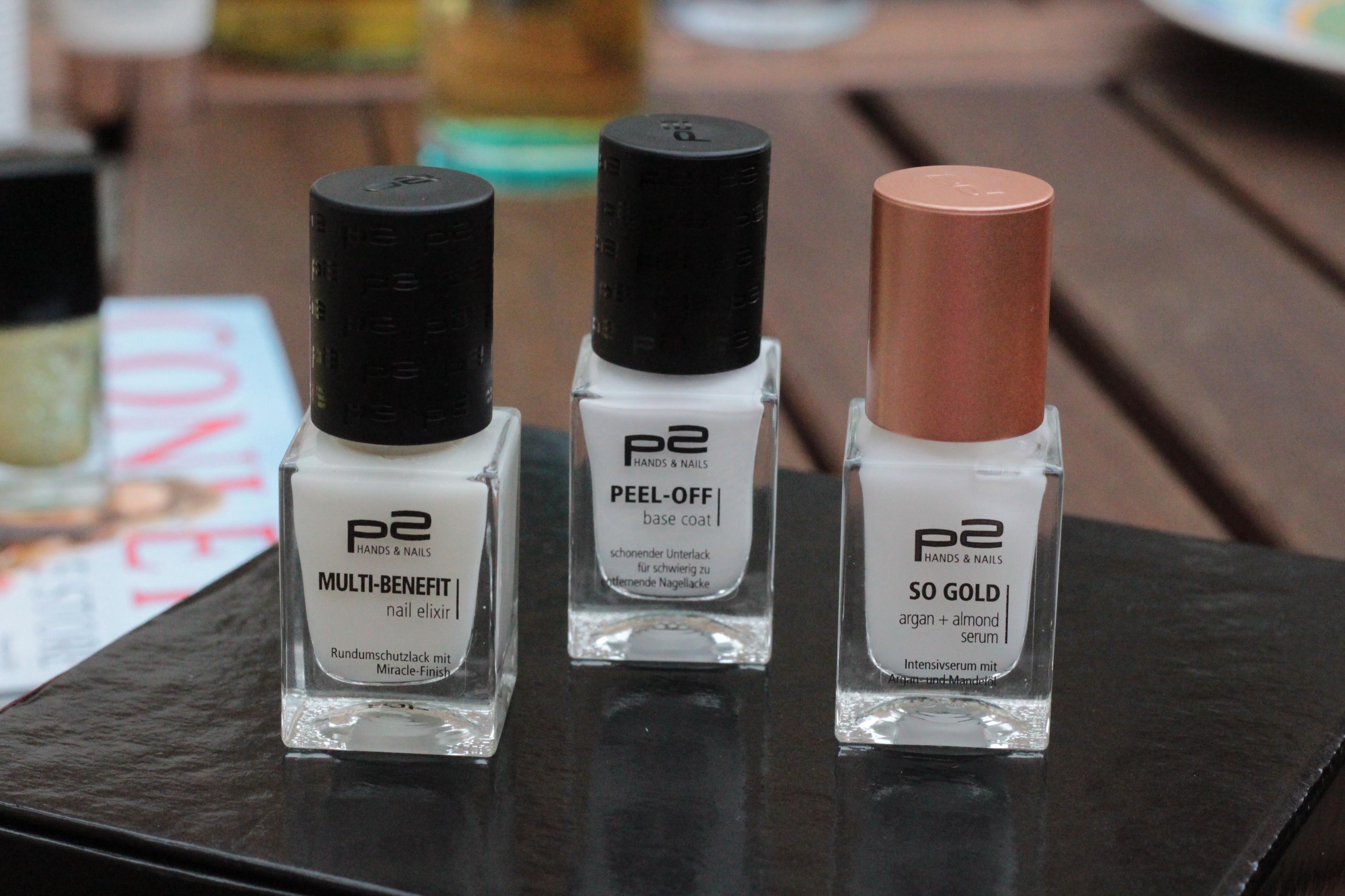 Produktvorstellung: Neues von #p2 zur Hand- und Nagelpflege -