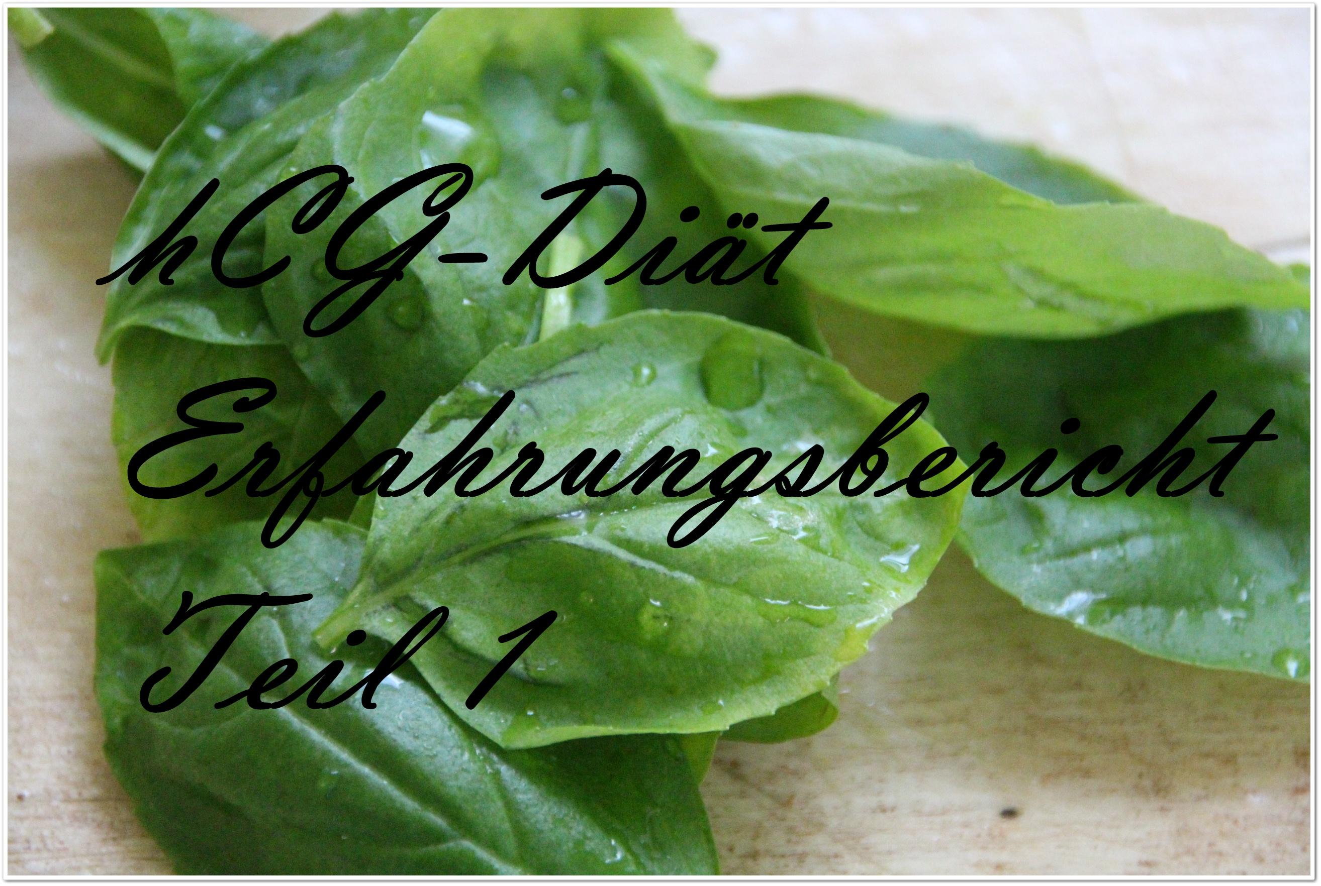 Erfahrungsbericht Teil 1: meine hCG-Diät (Tag 1-3)