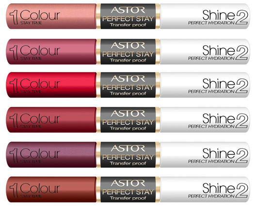 #Astor Cosmetics: Perfect Stay Transfer Proof Lipcolor im Test