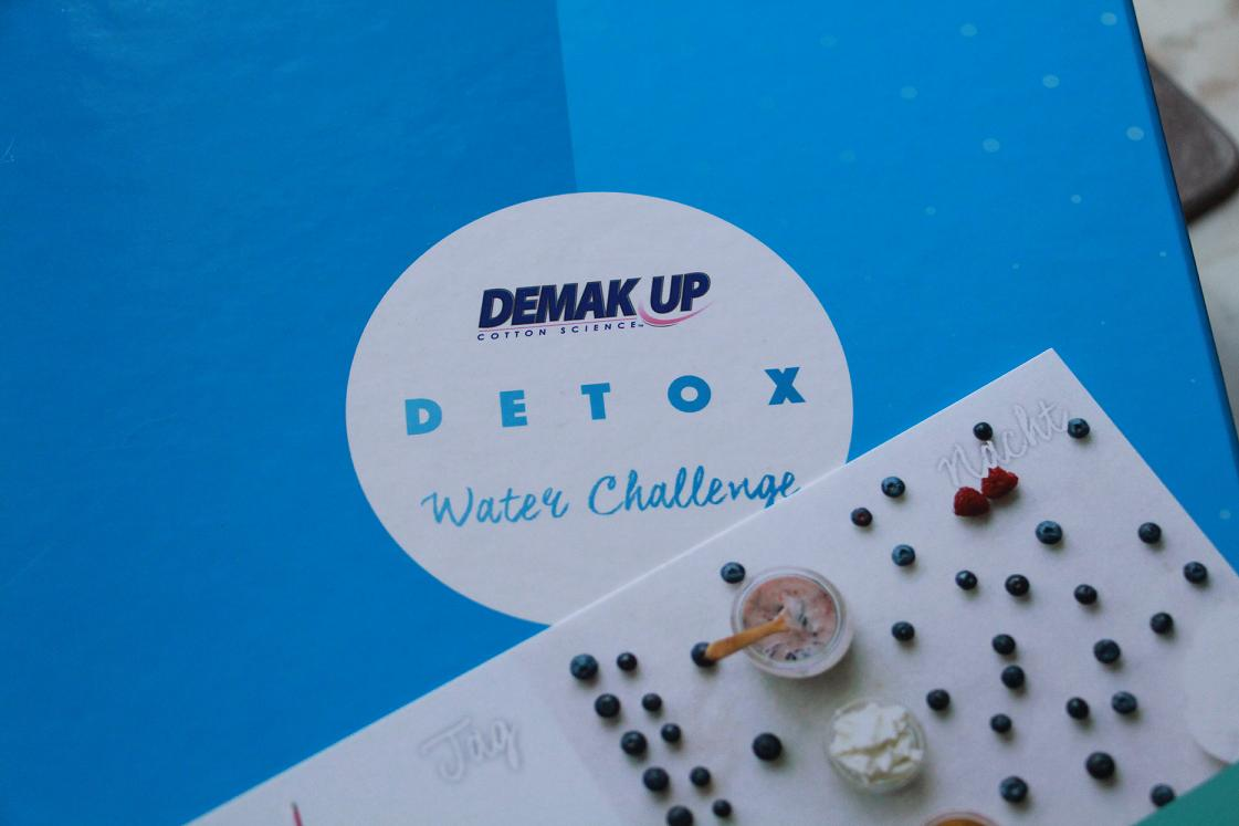 die detox wasser challenge von demak up. Black Bedroom Furniture Sets. Home Design Ideas