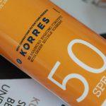 Korres: Yoghurt Sonnenemulsion Sonnenschutzfaktor 50