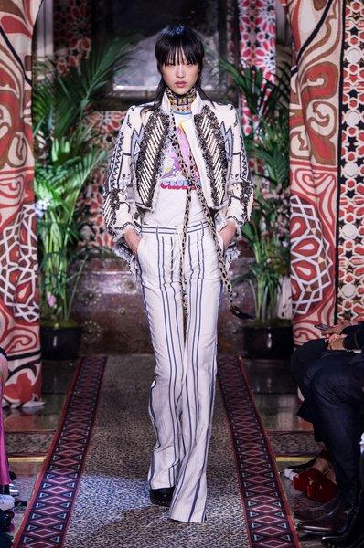 Roberto Cavalli Fashion Week Mailand