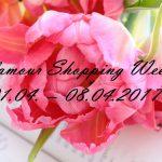 Glamour Shopping Week: 01.04. – 08.04.2017