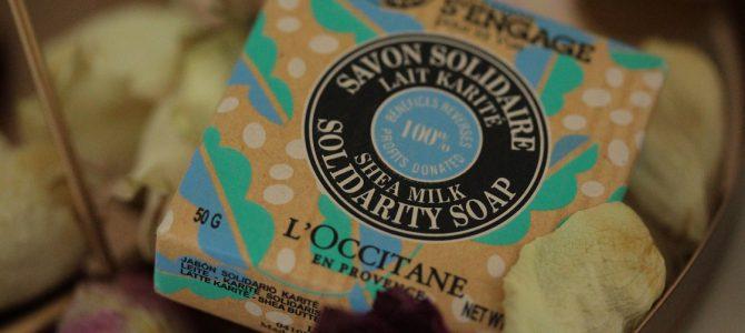 Gutes tun: mit dem Kauf der solidarischen Seife von L'Occitane