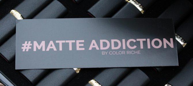 L'Orèal Color Riche – Matte Addiction Lippenstifte