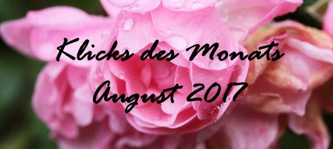 Klicks des Monats August 2017| mit DIY-Anregungen,