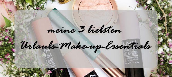 Themenwoche | meine 3 liebsten Urlaubs-Make-up-Essentials