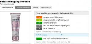 Balea Reinigungsmousse –     CODECHECK.INFO – Test, Bewertung und Preisvergleich - Mozilla Firefox 27.08.2014 162044