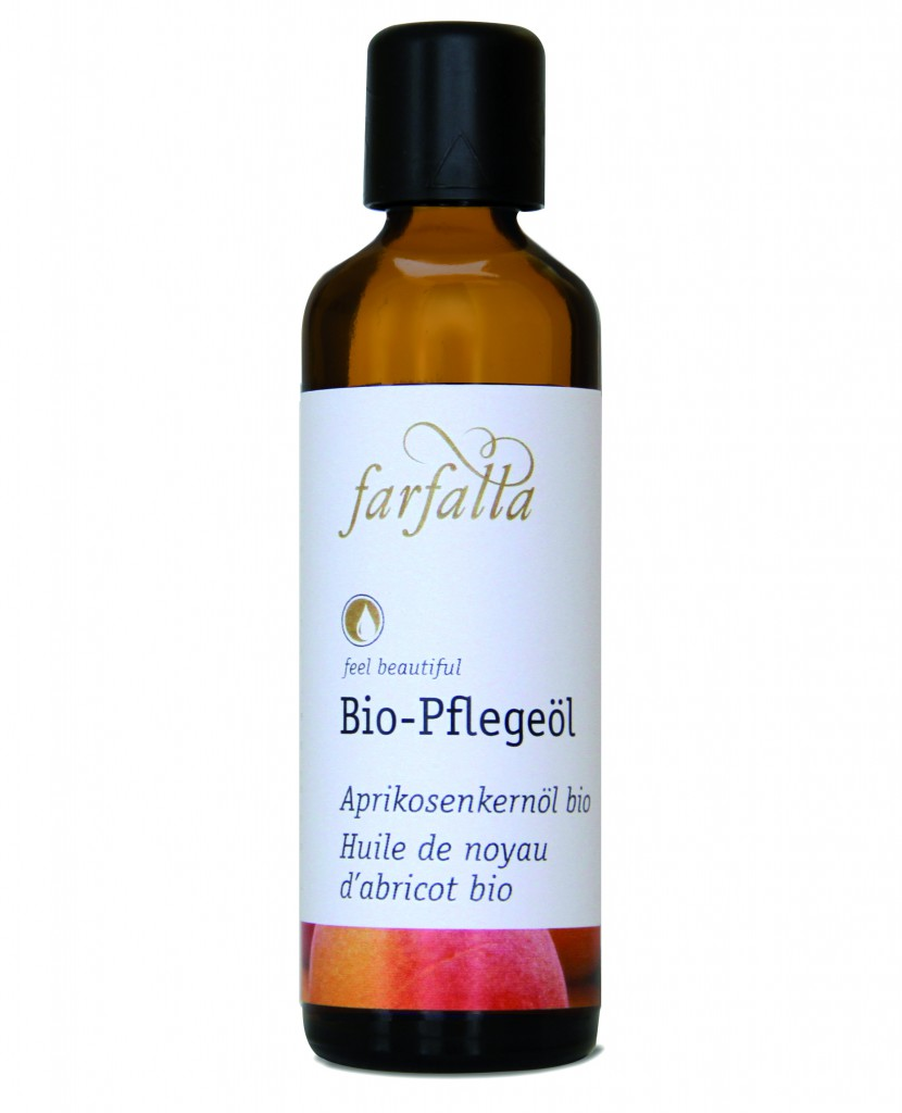 FARFALLA_Bio-Pflegeöl Aprikosenkernöl bio