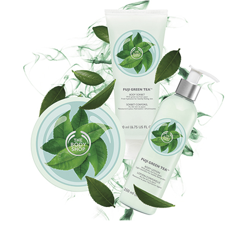 Body Shop Fuji Green Tea_3