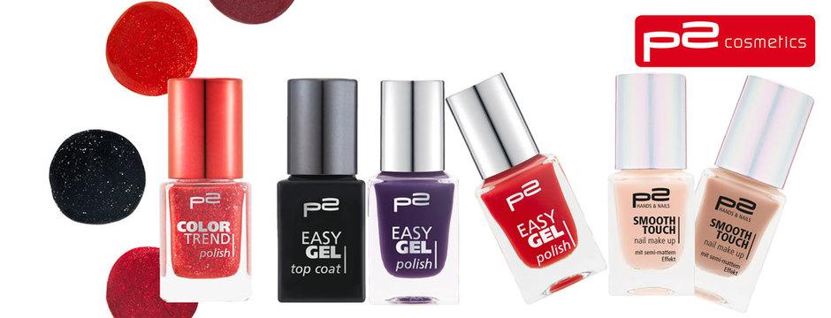 p2: neue Produkte ab August 2015 für die Nägel
