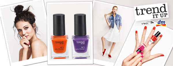 trend IT UP – die neue Beauty-Marke von dm!