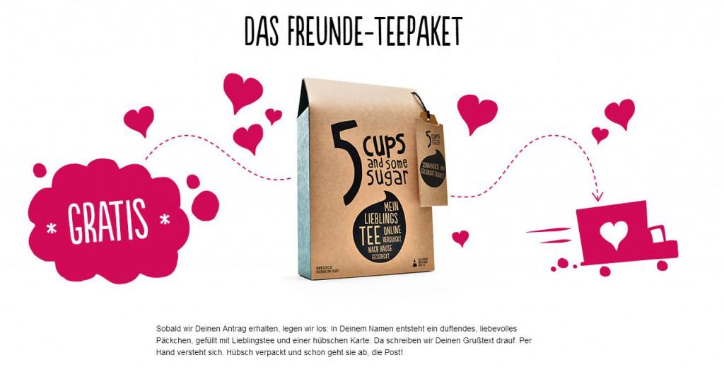 5 Cups_Freunde_Teepaket