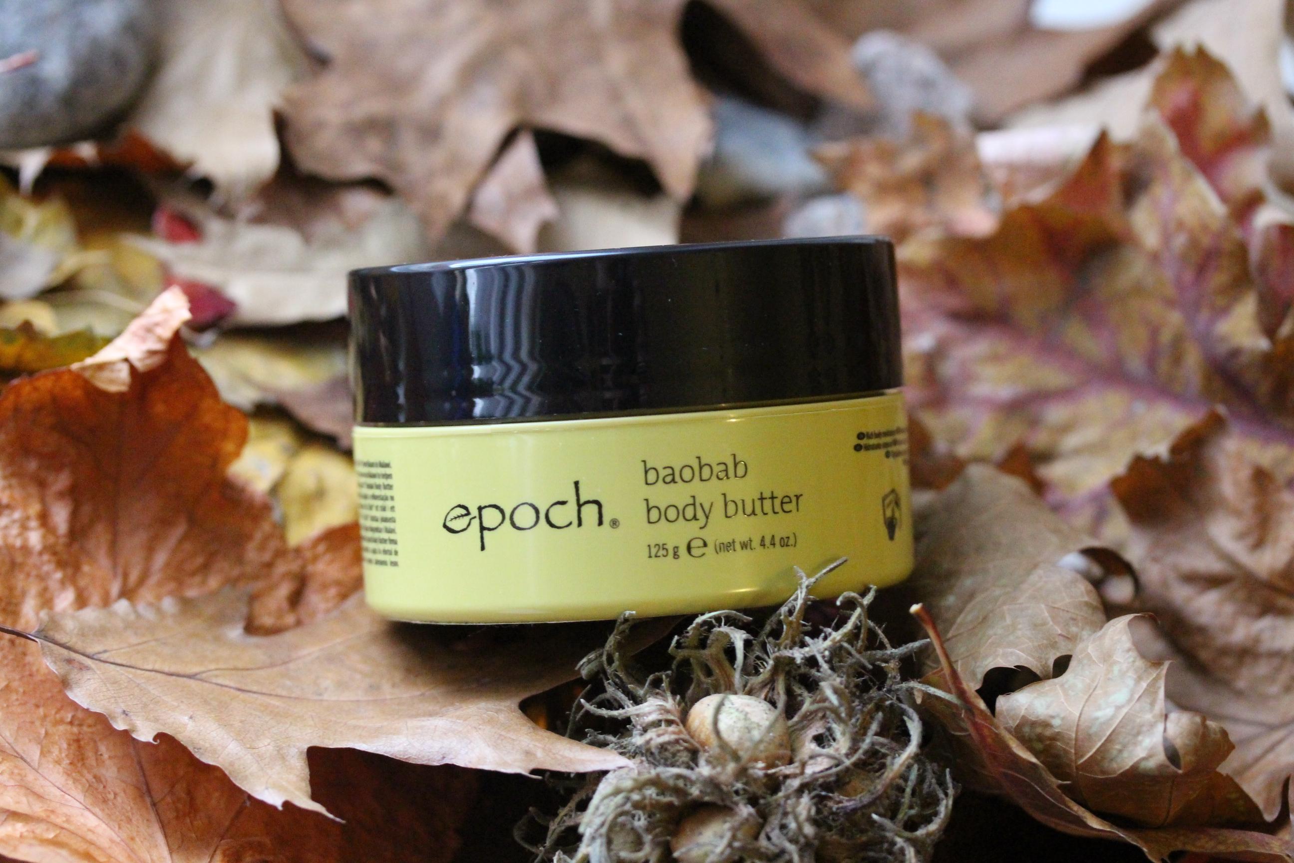 intensive Hautpflege: mit der Nu Skin Epoch Baobab Body Butter