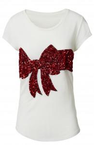Weihnachtsaktion_H&M_Katy Perry_Shirt mit Pailetten