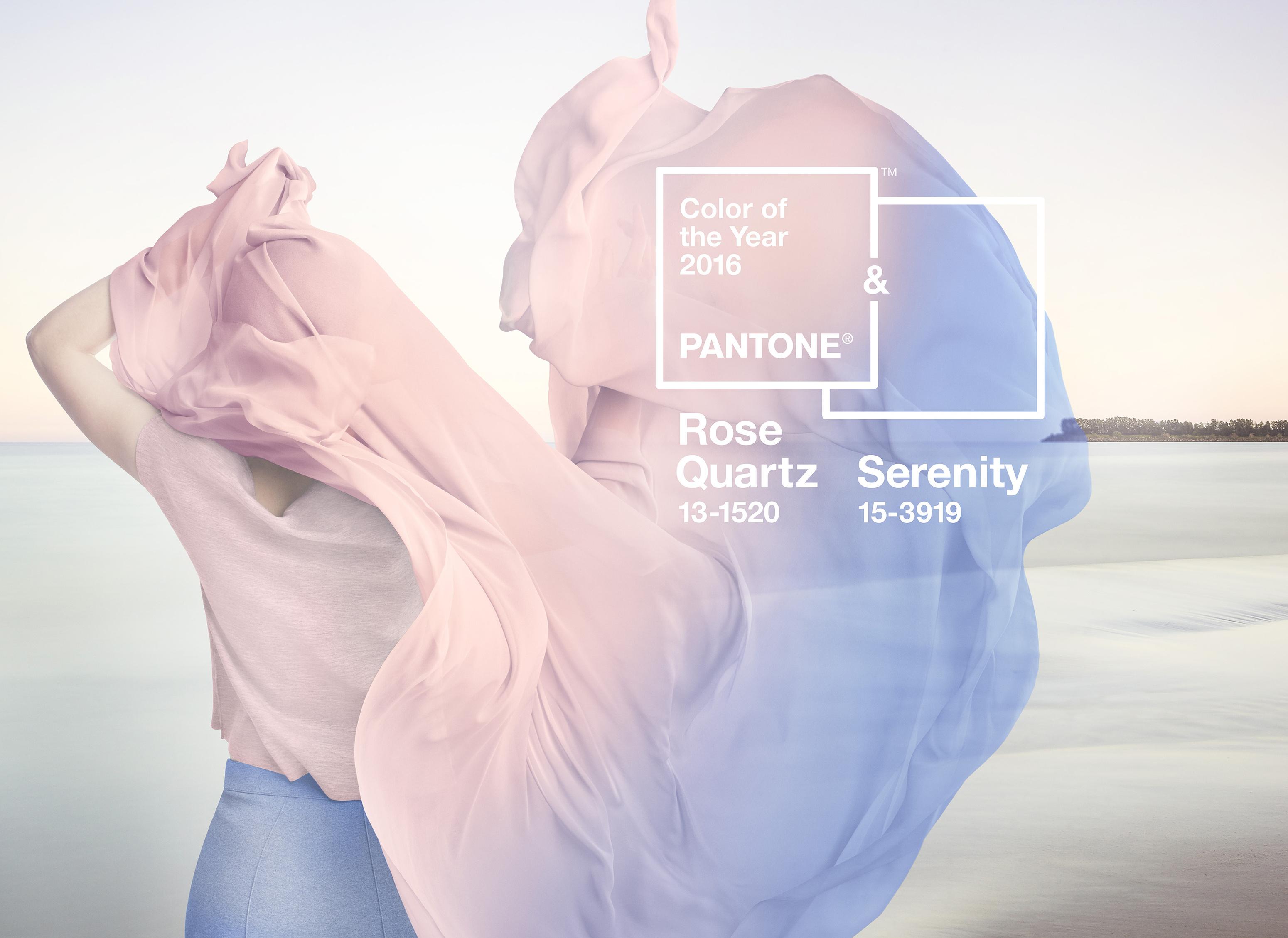 Farben des Jahres 2016: Serenity & Rose Quartz