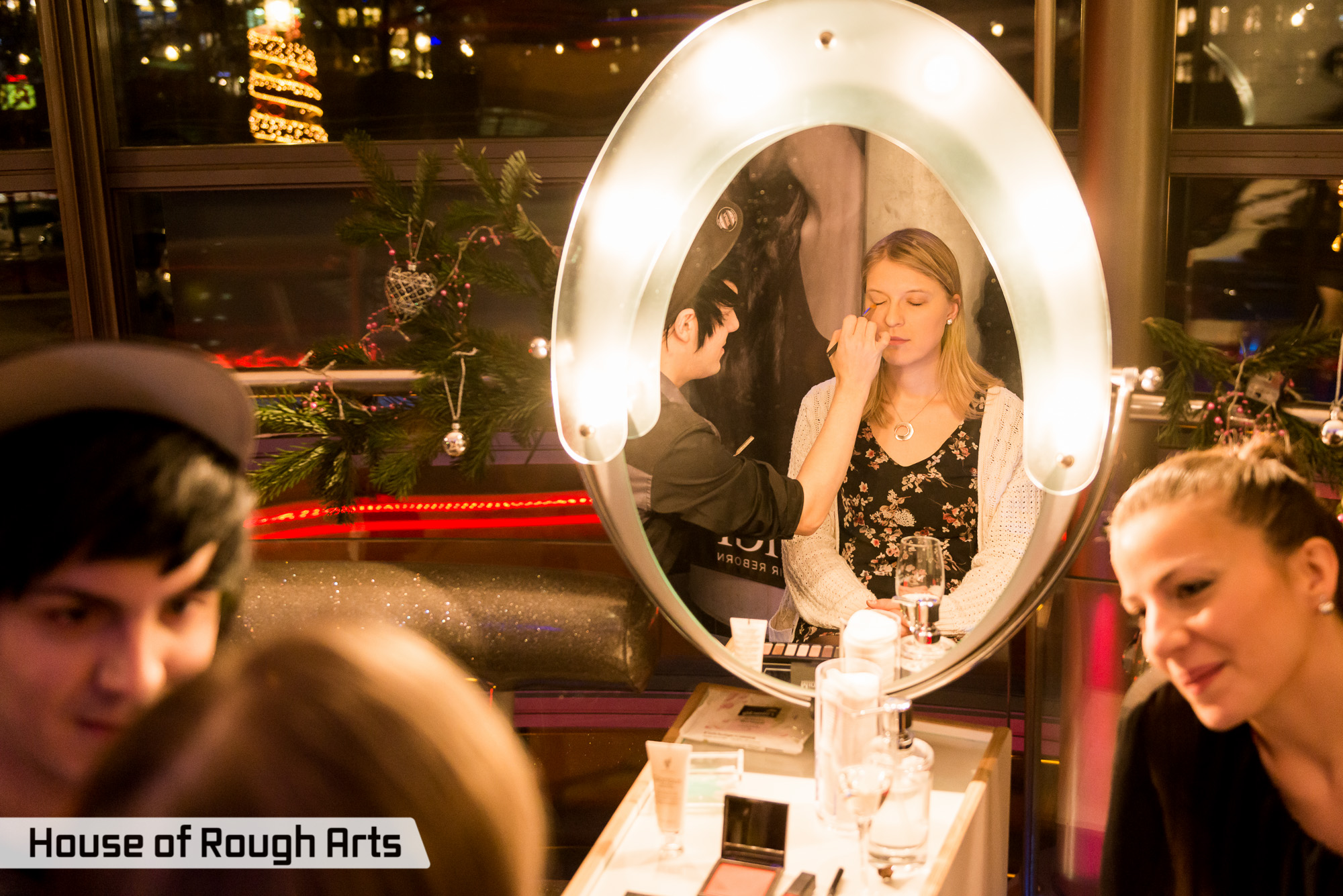 Styling und Make-up in der Dry Lounge am Potsdamer Platz