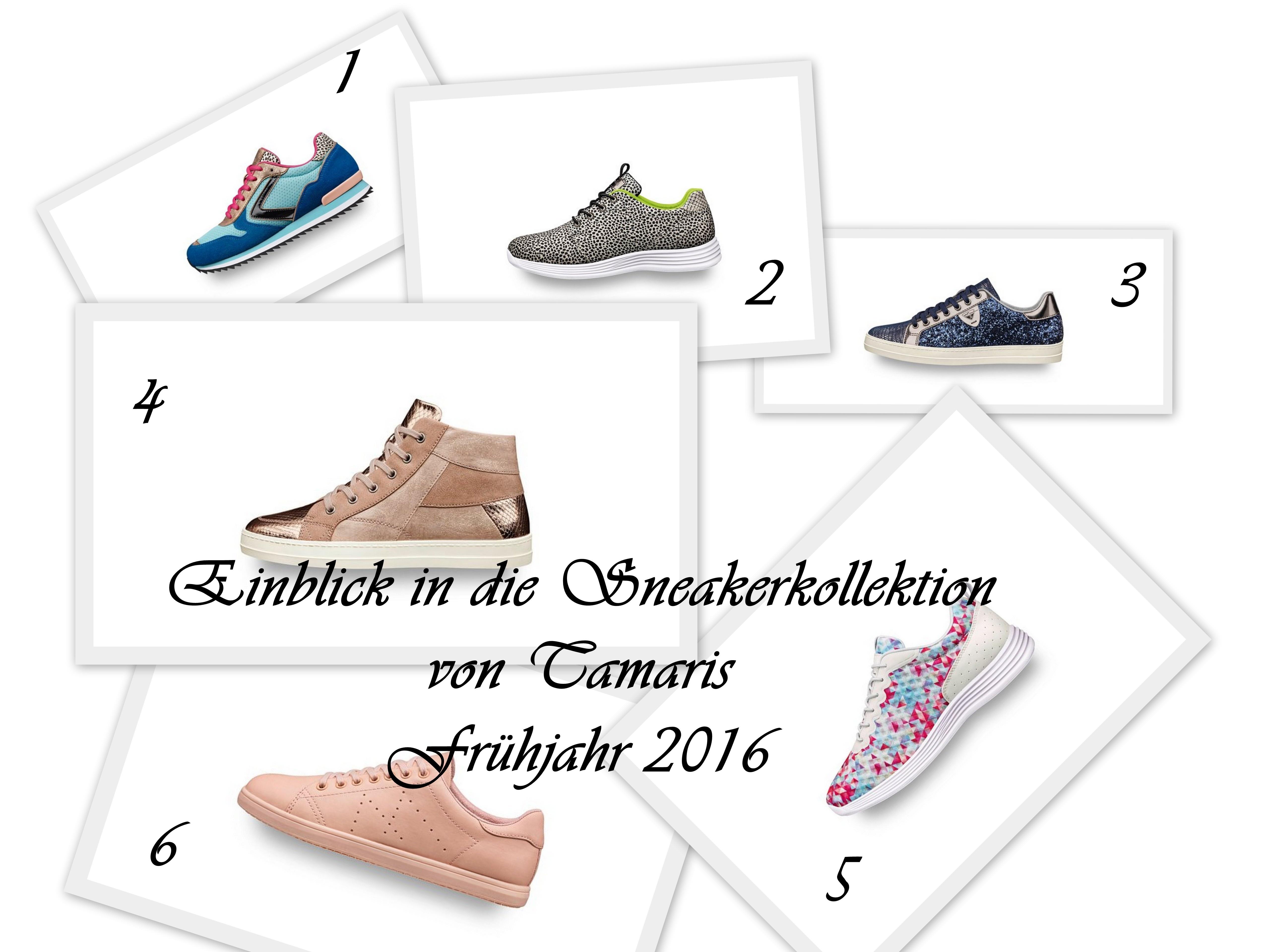 Collage_Tamaris Sneaker_Frühjahr 2016