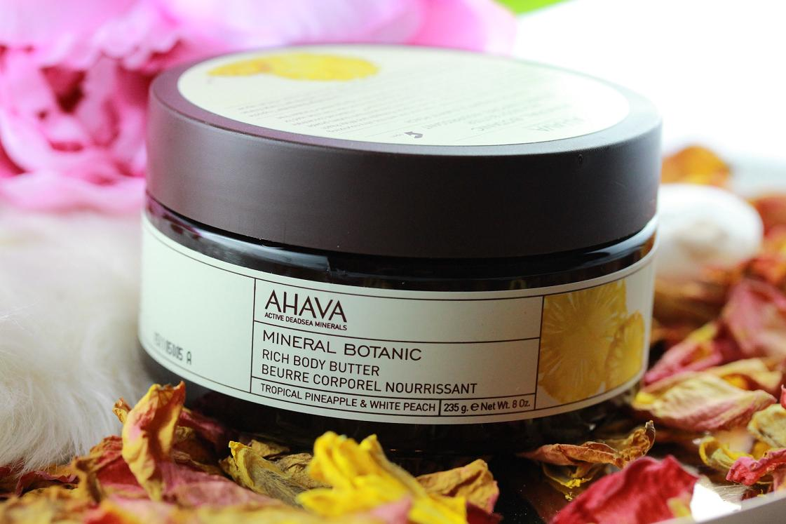 Das Lebe ist schön_AHAVA_Mineral Botanic Ric Body Butter