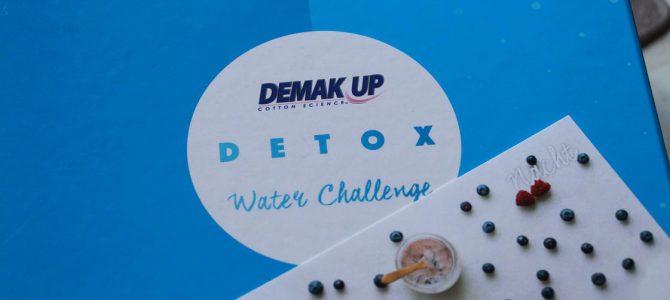 Die Detox Wasser Challenge von Demak'Up