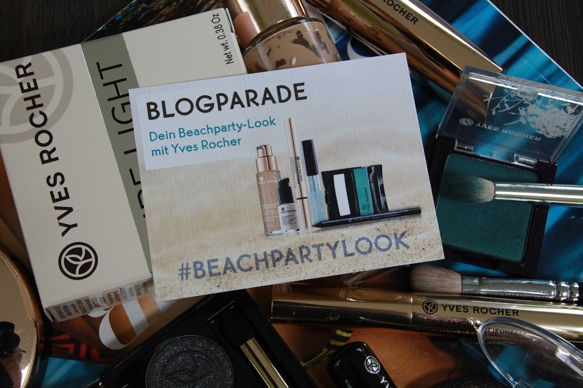Blogparade | Beachparty-Look mit Yves Rocher