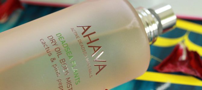 AHAVA: DRY OIL BODY MIST CACTUS & PINK PEPPER