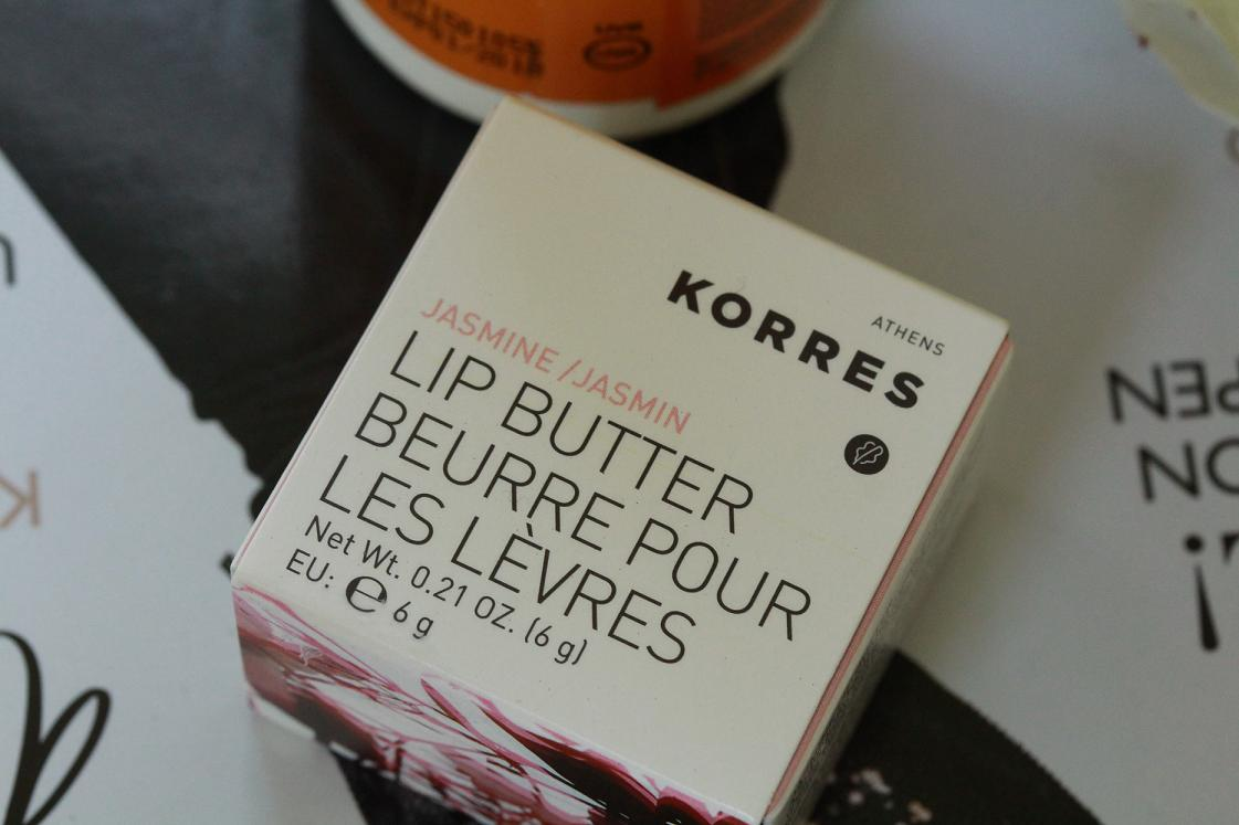 Verwöhnpflege für die Lippen: Korres Lip Butter Jasmin
