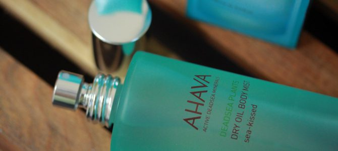 AHAVA Dry Oil Body Mist Sea-Kissed