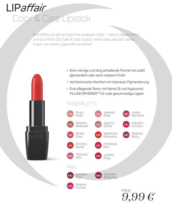 neues auf dem Beautymarkt_L.O.V._13_Lippenstifte