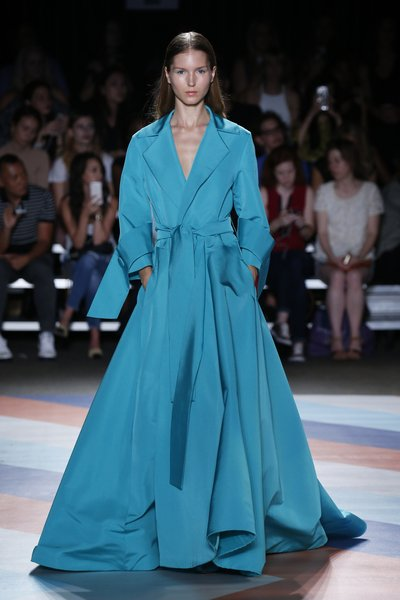 Fashion Week New York: Frühjahr-Sommer 2017 Christian Siriano