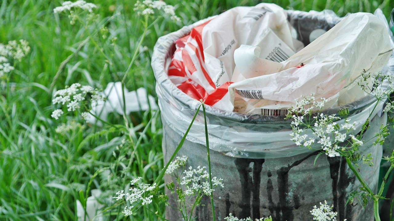 Verbrauch von Plastiktüten geht stark zurück