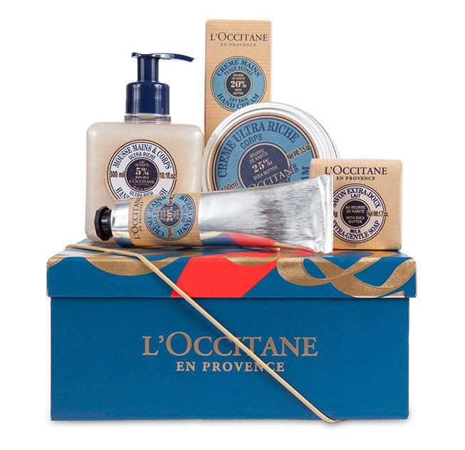 adventskraenzchen_gift-guide_loccitane_koerperpflege-geschenkbox-karite
