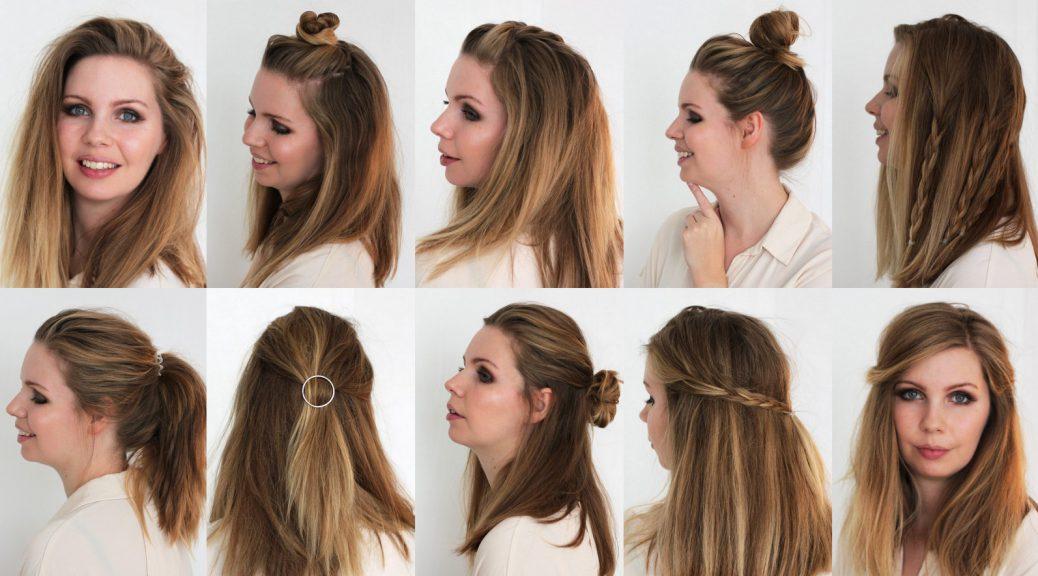 Schulterlange haare stylen