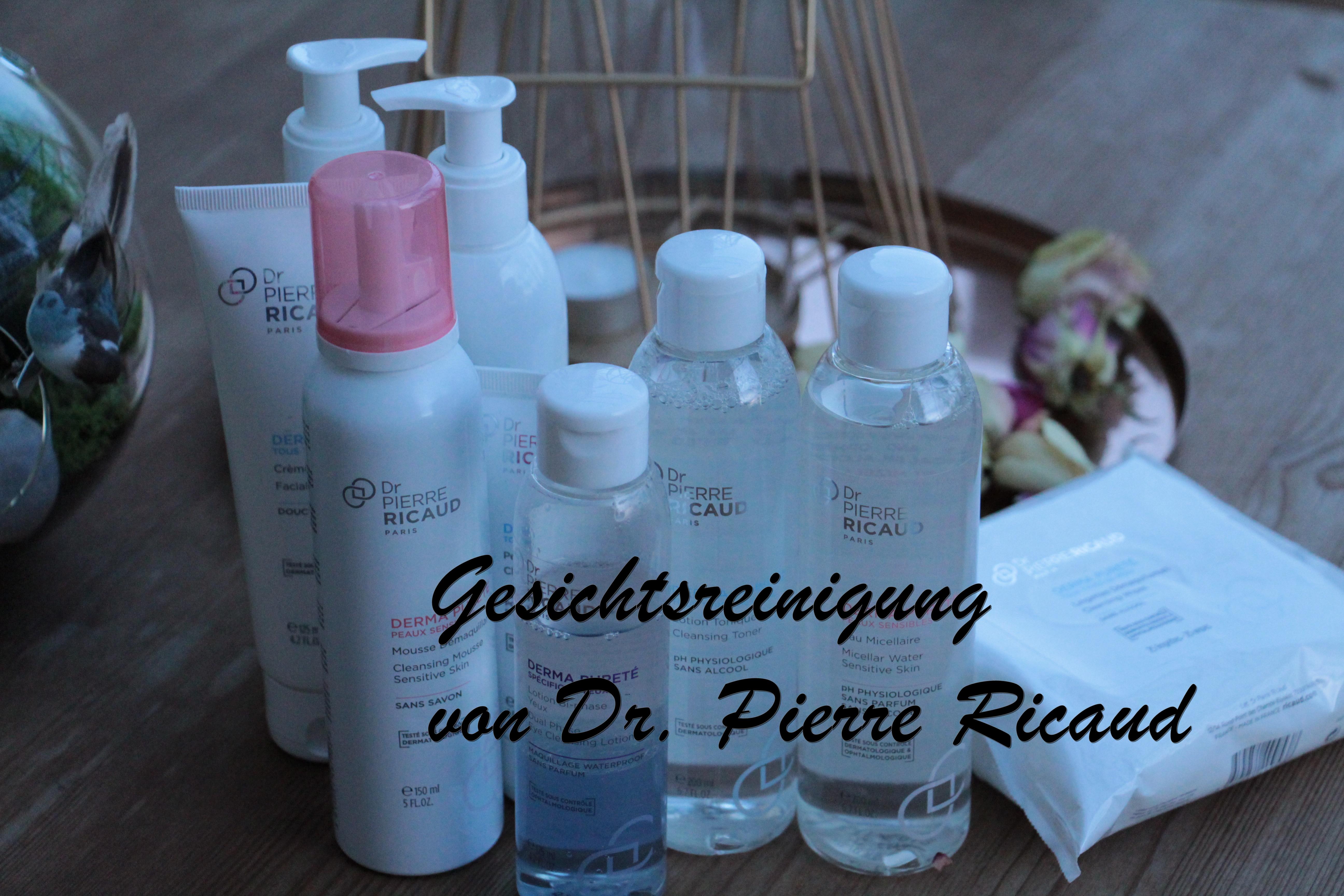Vorstellung: Gesichtsreinigung Derma Pureté von Dr. Pierre Ricaud