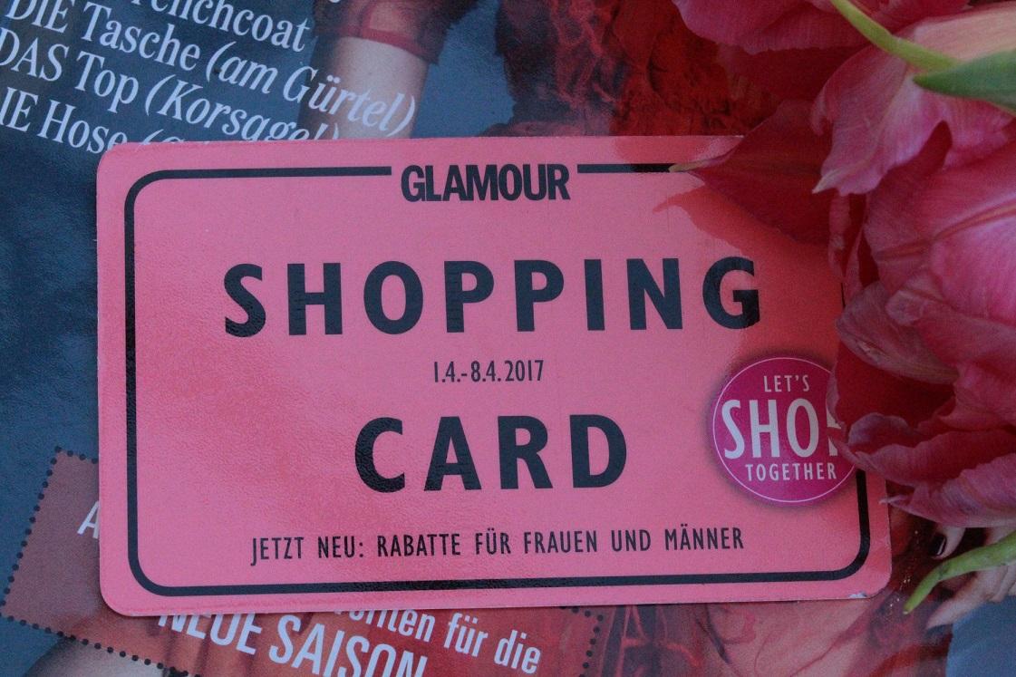 Glamour Shoping Week_April 2017_Shopping Card
