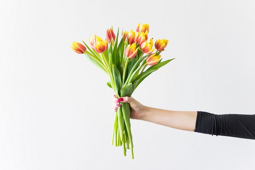 Zeit für mich_Internationaler Frauentag_Blumen