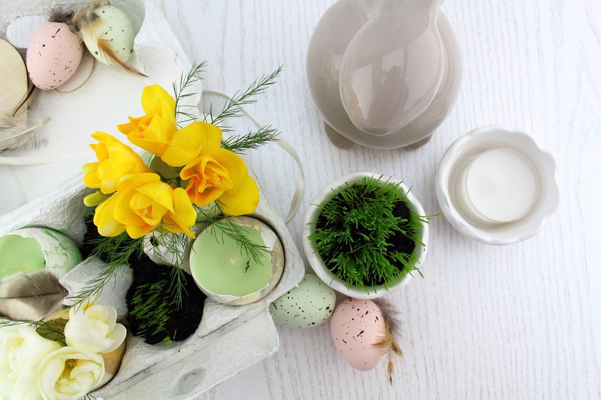 DIY-Osterdeko zum bepflanzen und verschenken - Ostern - Oster-DIY - Ostergras - Ostergeschenk - Osterei - Eierkarton - Do it yourself - selbermachen - Osteridee (1)