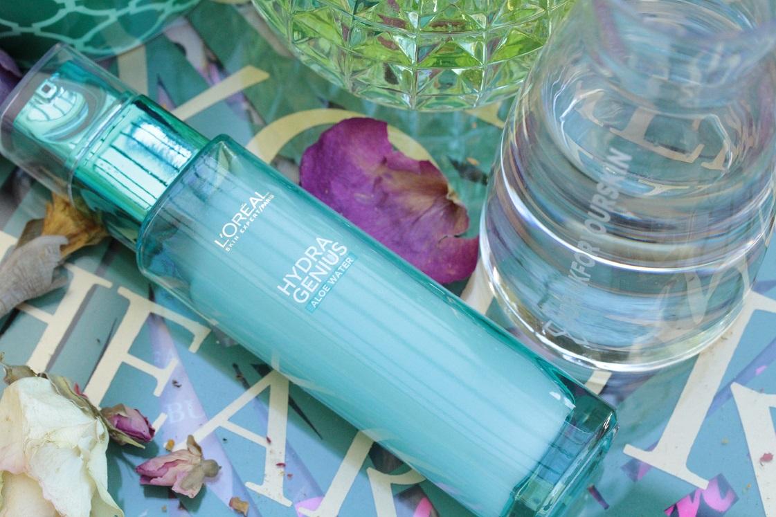 #drinkforyourskin mit L'Oréal Hydra Genius Aloe Water