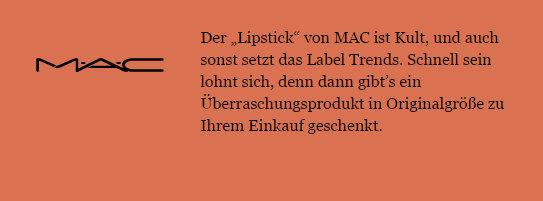 GLAMOUR-Beauty-Festival-10. - 11.06.2017-München-das-leben-ist-schoen-glamour-beauty-week-partner-mac