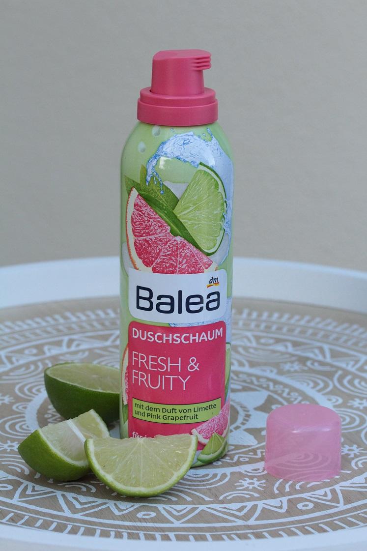 erfrischende-sommerfavoriten-Balea-Duschschaum-Fresh-Fruity-das-leben-ist-schoen