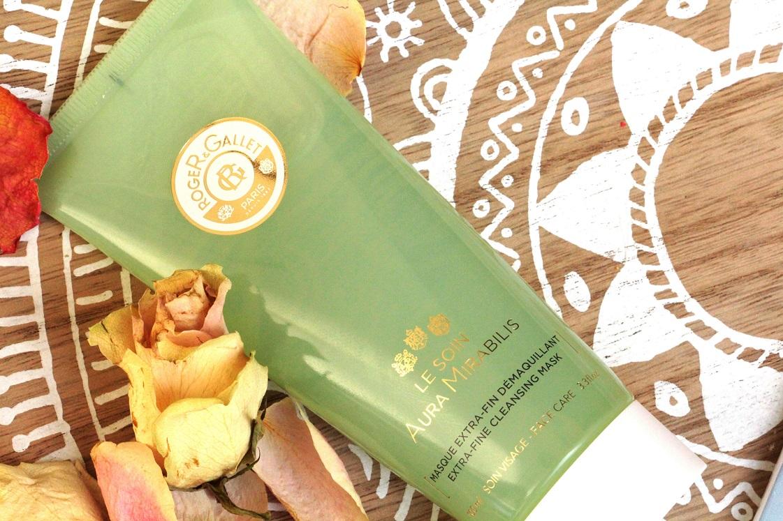 Gesichts-und-Verwöhnpflege-Roger-Gallet-Aura-Mirabelis-extrafeine-Reinigungsmaske-das-leben-ist-schoen