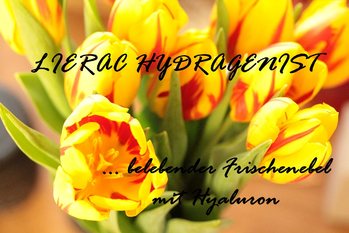 LIERAC HYDRAGENIST: belebender Frischnebel mit Hyaluron