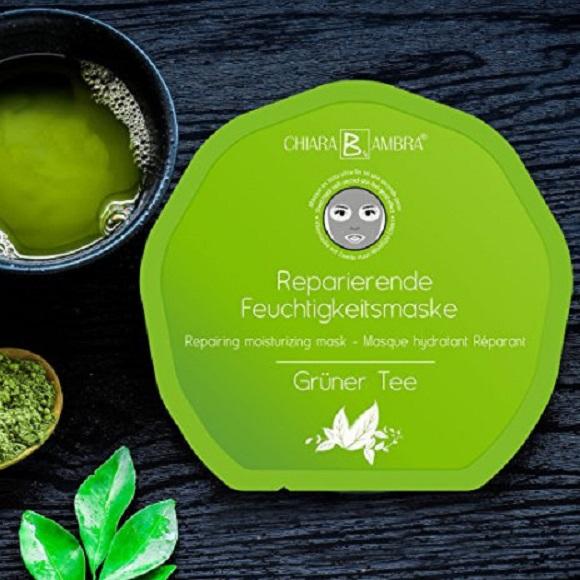 chiara-ambra-vliesmasken-grüner-tee-gesichtsmaske-das-leben-ist-schoen