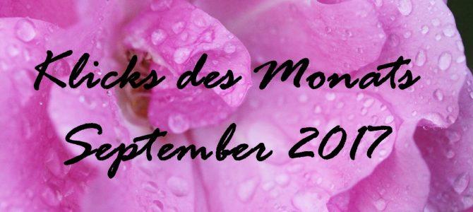Klicks des Monats September 2017   mit einem Kalender für 2018 zum Selbstausdruck & mehr
