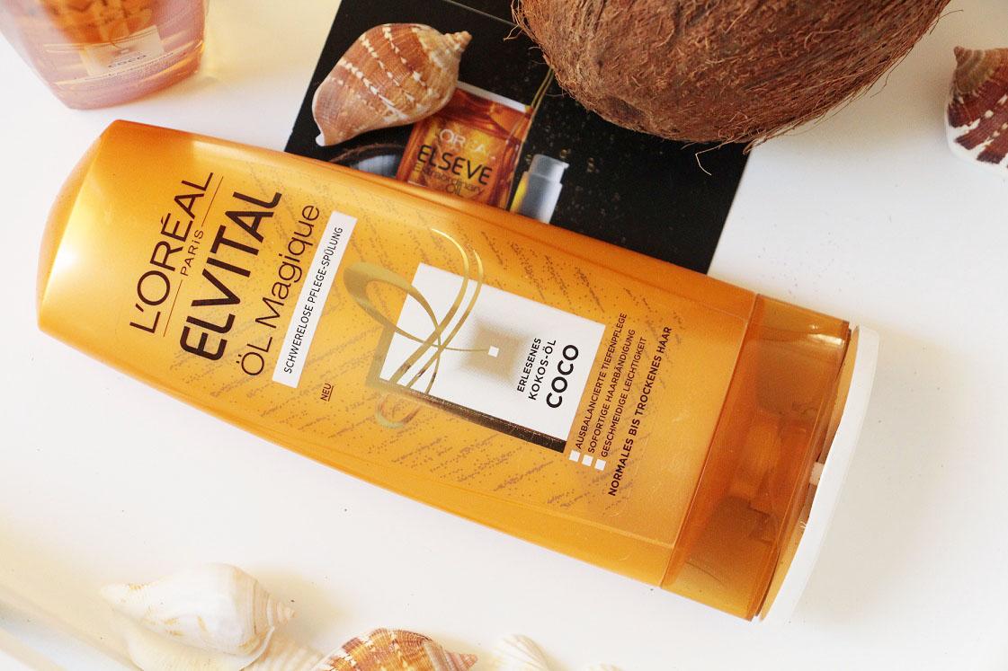 L'Oréal-Paris-Elvital-Öl-Magique-Coco-Pflegeserie-Pflegespülung-das-leben-ist-schoen