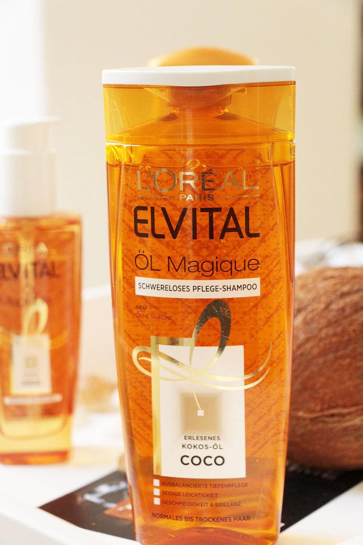L'Oréal-Paris-Elvital-Öl-Magique-Coco-Pflegeserie-schwereloses-pflegeshampoo-das-leben-ist-schoen