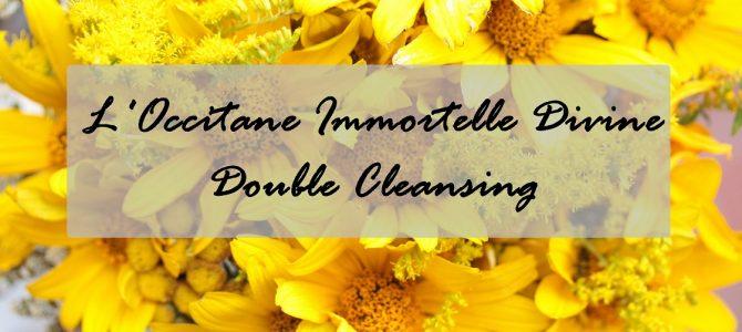 L'Occitane Immortelle Divine: Reinigungsbalsam und Reinigungsschaum