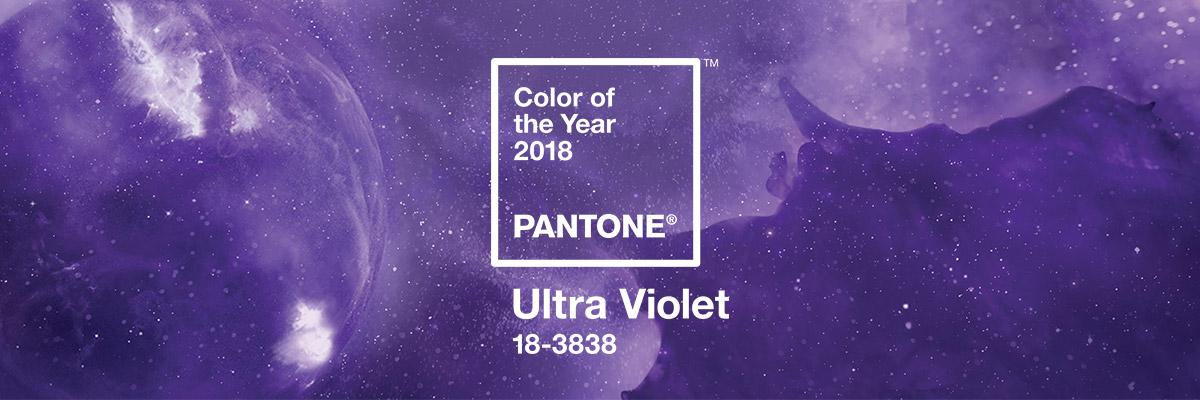 Pantone Trendfarbe 2018 | Ultra Violett – Hintergründe und Styles