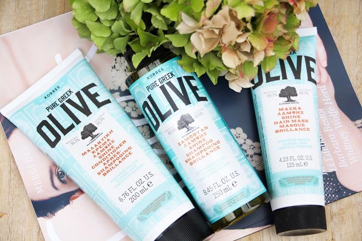 Monatsfavoriten | August 2018: KORRES Pure Greek Shine – Olivenölpflege für die Haare [inkl. Gewinnspiel]